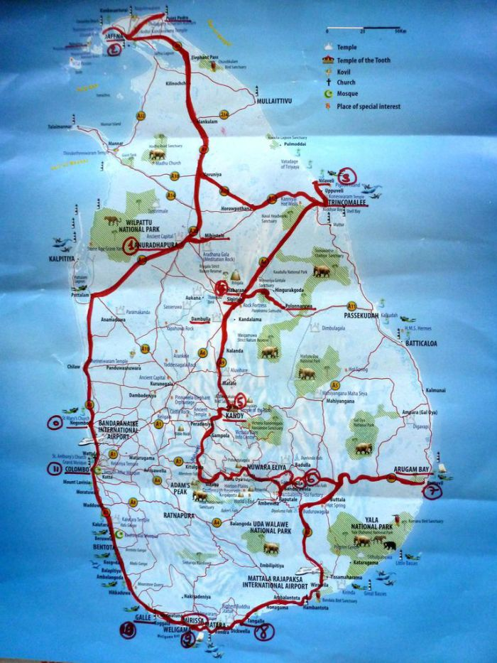 Un mois au Sri Lanka et dans la péninsule de Jaffna - titimathi