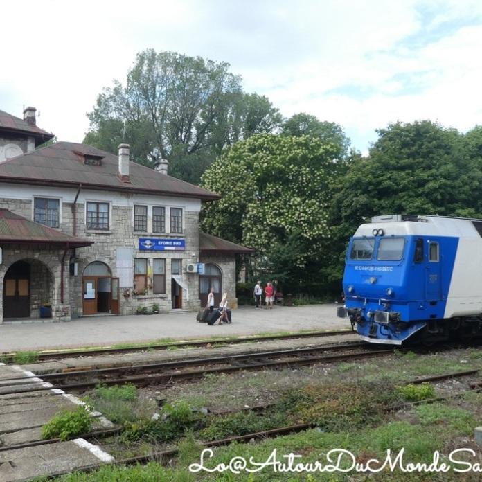 80 Jours de voyage en train en Roumanie - LoMat